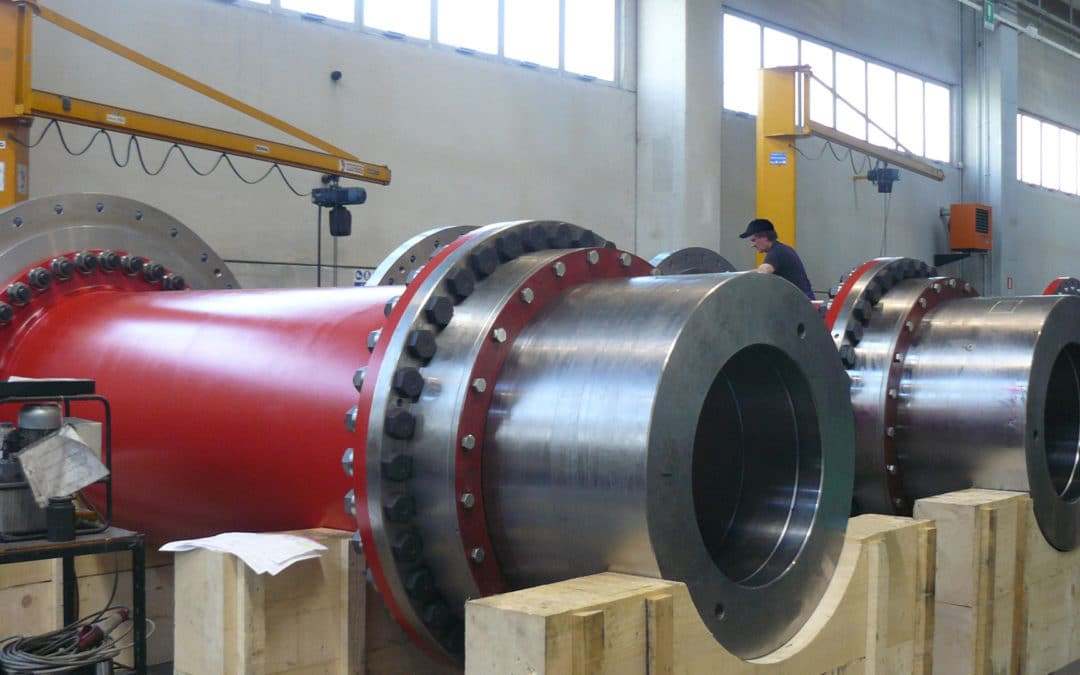 Rolling mill drive couplings