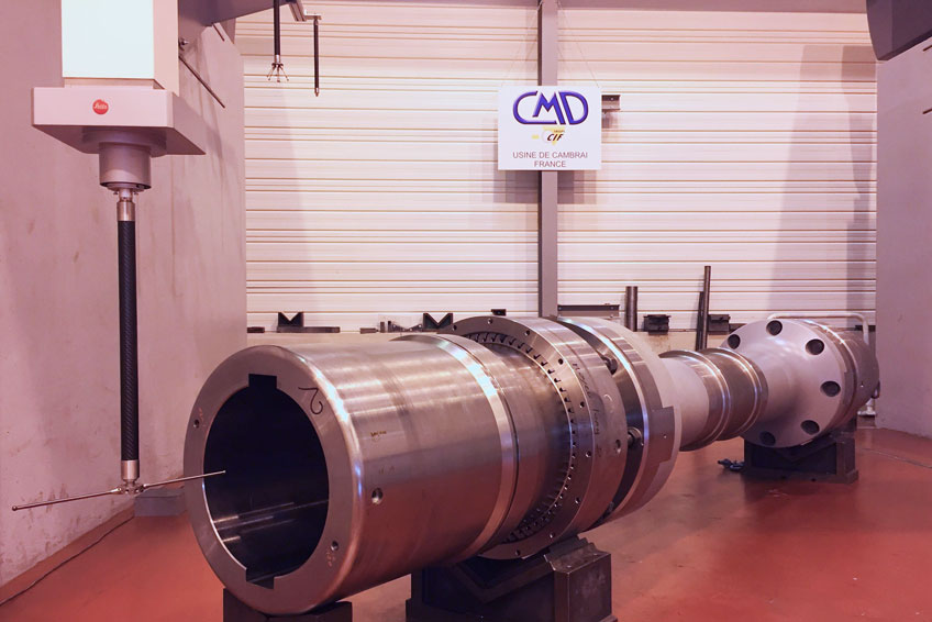 3D control of spindles for the steel industry!